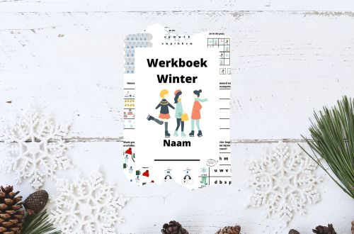 winter werkboek