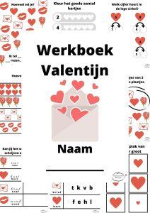 Werkboek Valentijn (Kleuters) || Free Printable
