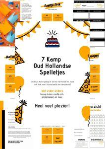 7 Kamp Oud Hollandse Spelletjes