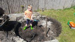 kindvriendelijke tuin met gegarandeerd veel speelplezier
