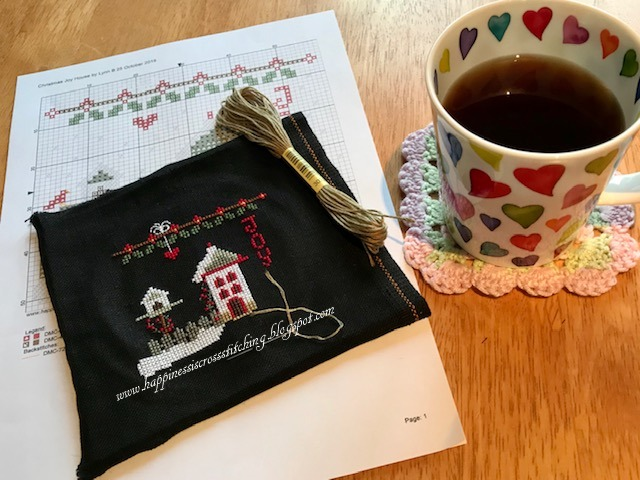 free christmas cross stitch pattern winter cross stitch