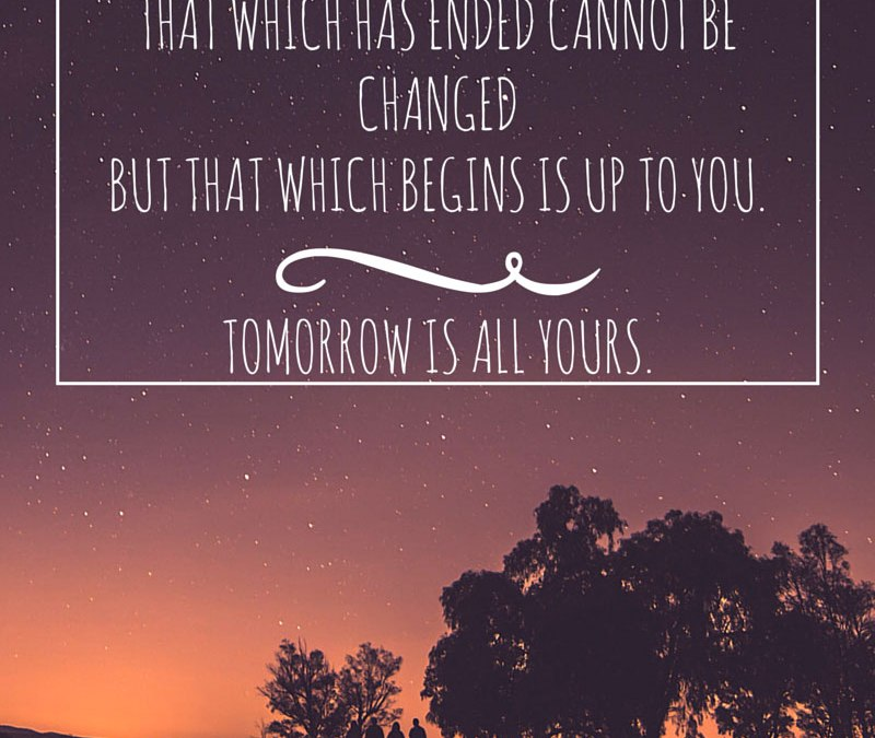 Tomorrow is All Yours