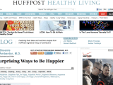 Dr. Ambardar on The Huffington Post: 6 Surprising Ways to be Happier, 8/8/2012