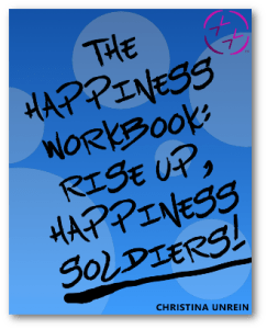 The Happiness Workbook front cover