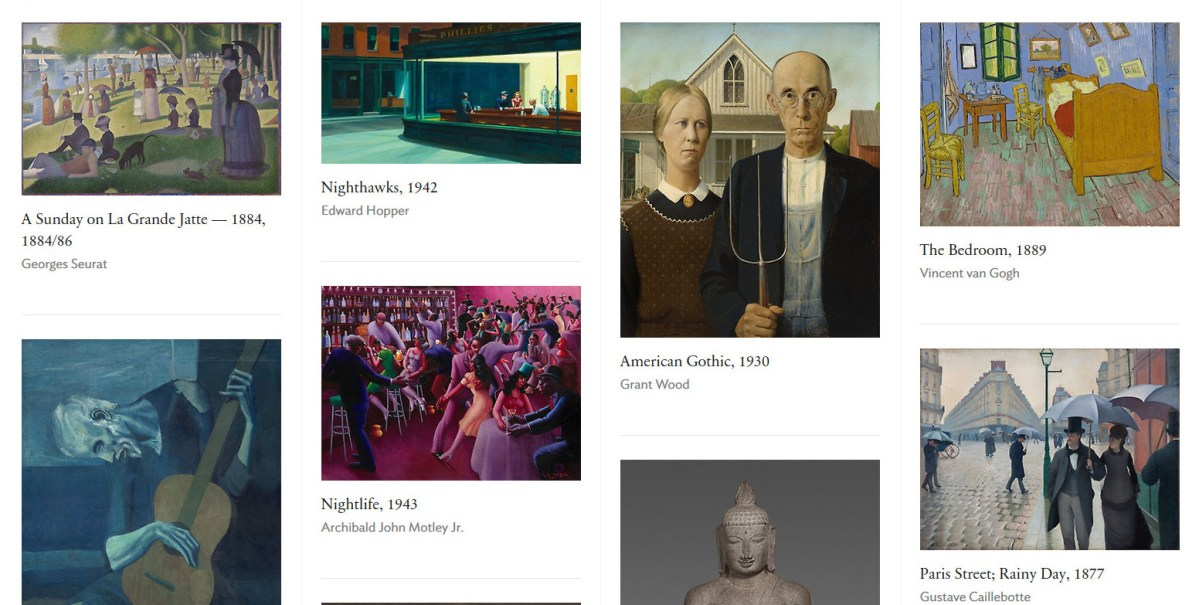 #Art Institute Chicago Features Massive #Digital #Collection In Website Redesign