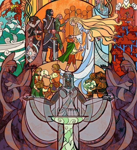 Screenshot_2020-12-15 LOOK 'Lord Of The Rings' Stained Glass Designs