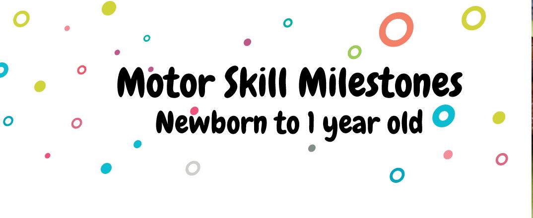 Infographic: Motor Skills Milestones  (0-1 year)