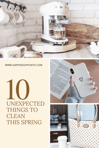 10 unexpected things to clean this spring