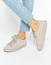New Look Suedette Trainer