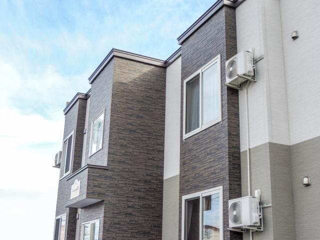 新築アパートは2棟