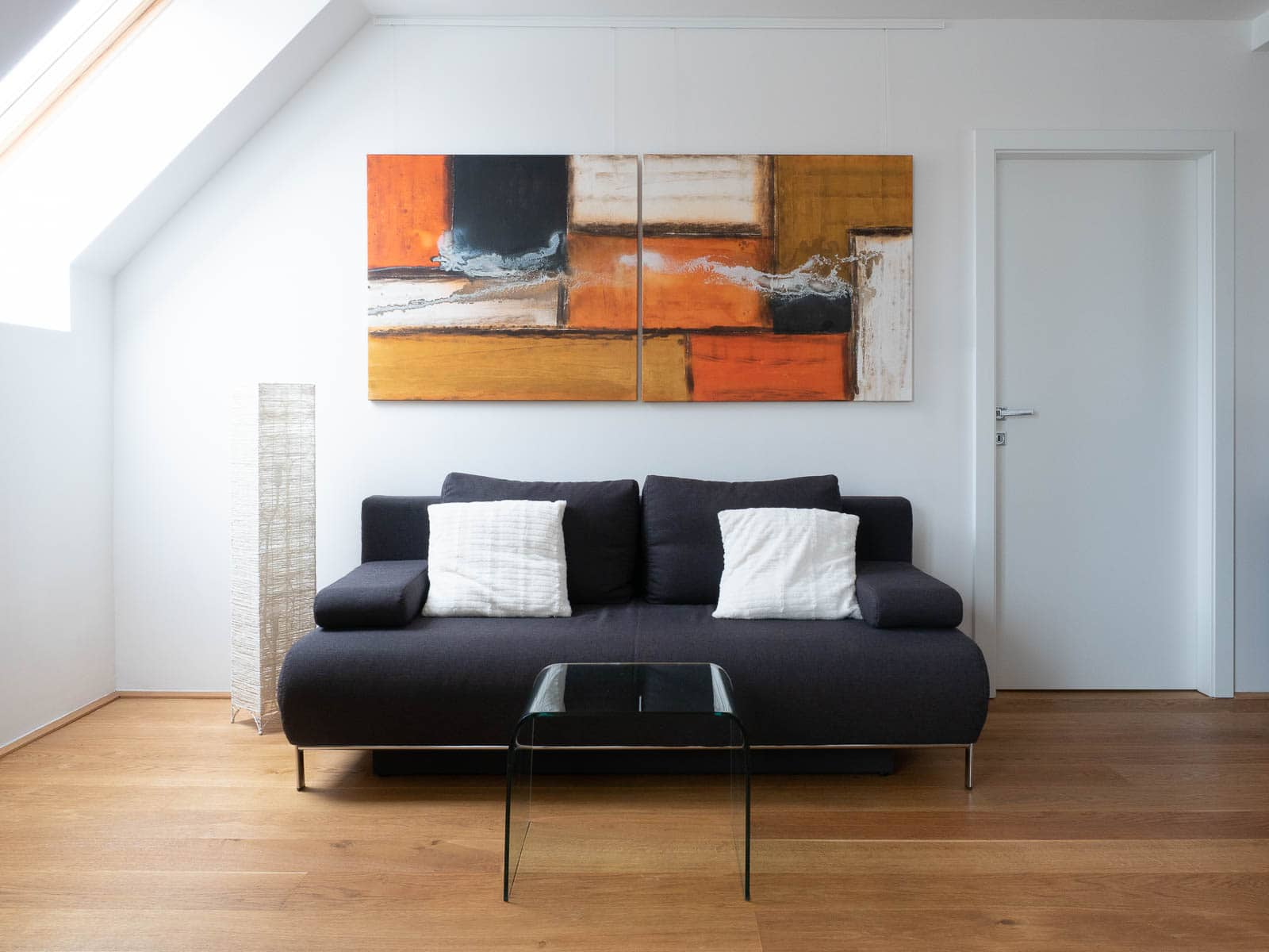Acrylbild 'Exportation' – 200 x 90 cm zweitelig