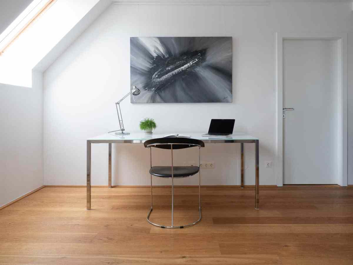 Acrylbild 'Grey Boat' – 140 x 90 cm