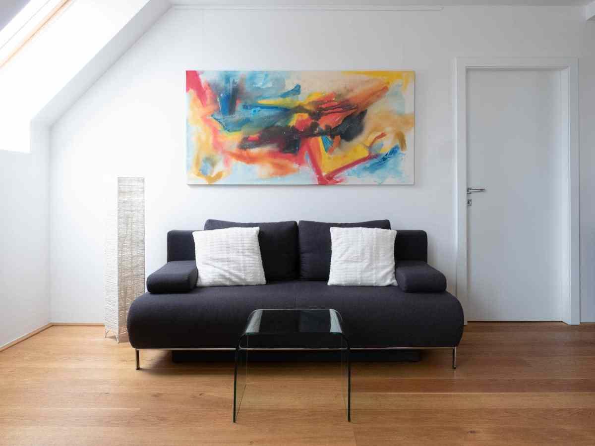 Acrylbild 'Summer' – 180 x 90 cm