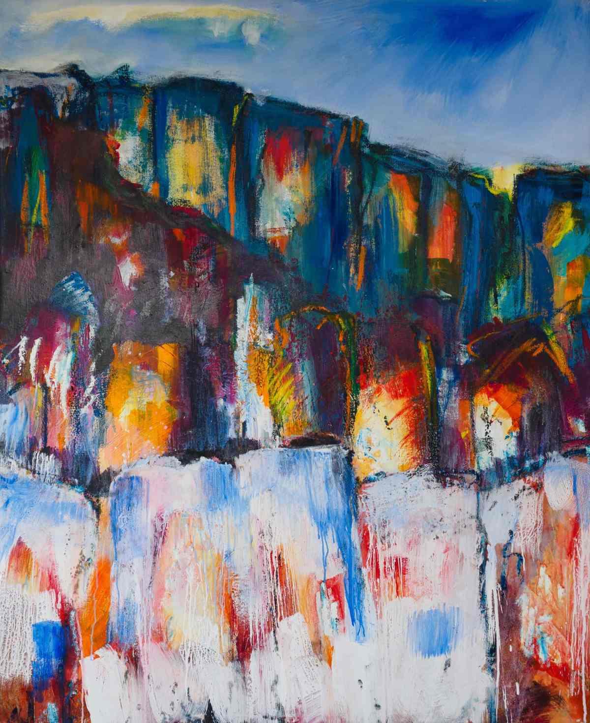 Acrylbild 'Leidensweg'