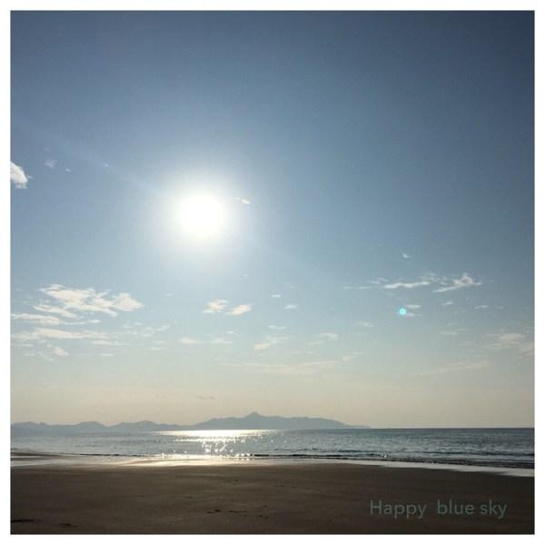 吹上浜の海岸で遊んだ「HAPPY BLUE SKY」な1日。