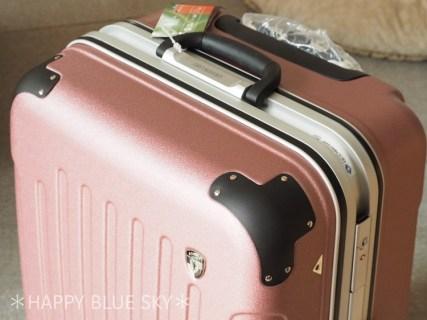 楽天のお買い物マラソンで購入。娘のスーツケース