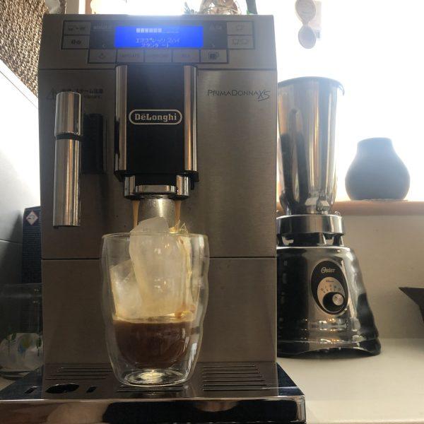 お家カフェそろそろアイスコーヒーからホットかな。