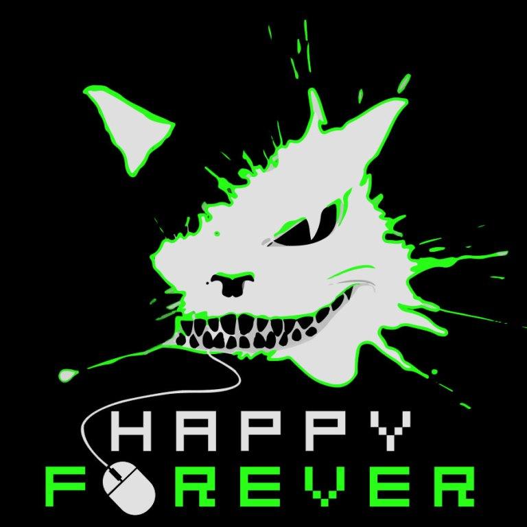 Happy_Forever_logos_black_green_2