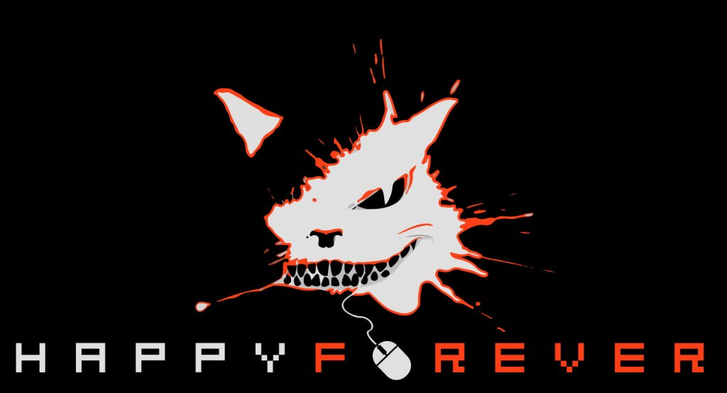 Happy_Forever_logos_black_orange_1