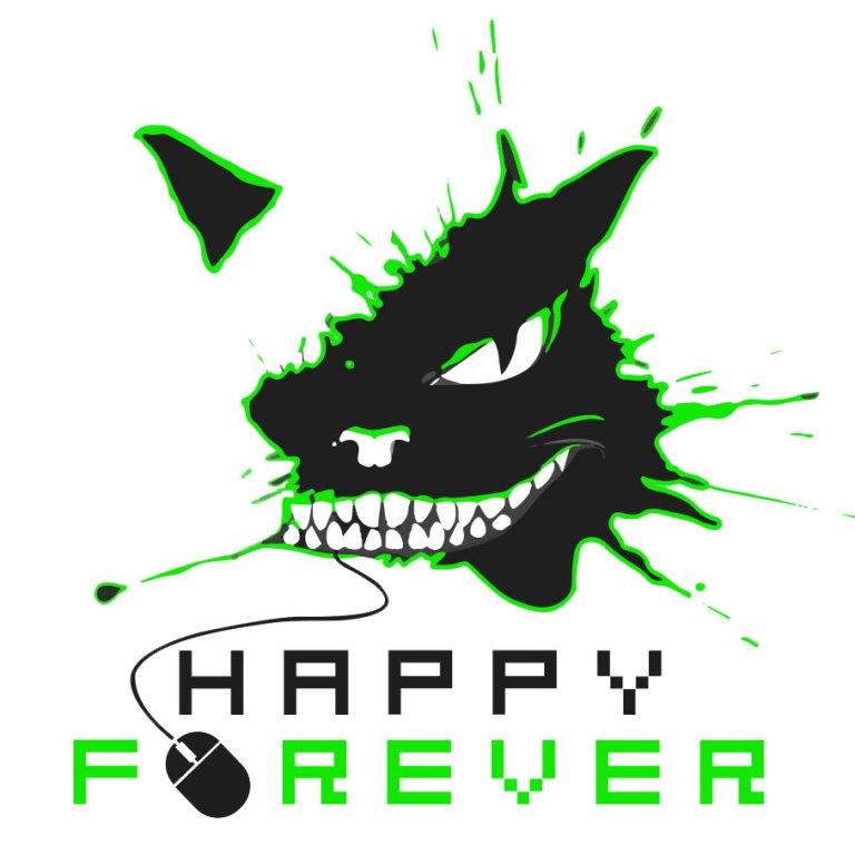 Happy_Forever_logos_white_green_2