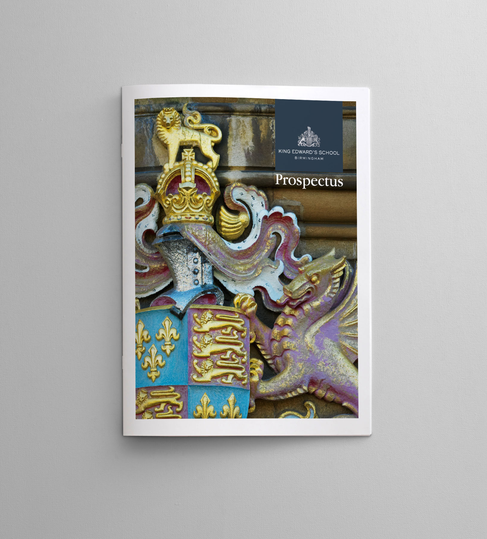 Brochure Design for King Edward's School for Boys Birmingham - by Happy Giraffe
