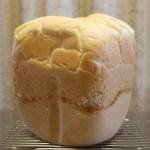 米粉パンをグルテンフリーでホームベーカリーのレシピ食パンの側面がへこむ原因は?