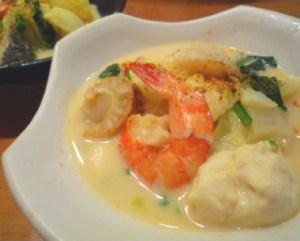 海鮮豆乳キムチ鍋.