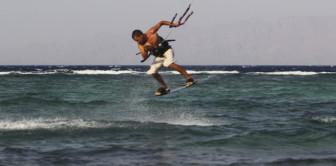 Инструктор Николай Дубенко. Трюк - Olly to blind. Спот - Ассала, Дахаб, Египет