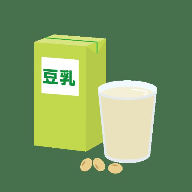 ミロを豆乳で作った時の栄養素