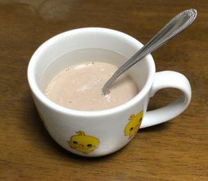 豆乳で作ったミロ