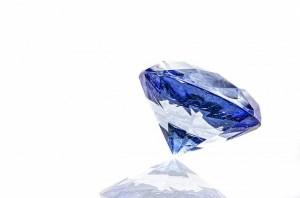 ブルーダイヤモンド ダイヤモンド 裏石