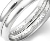 結婚指輪 刻印 プロポーズ 銀座ダイヤモンドシライシ