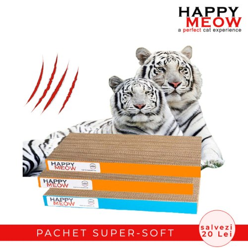 Pachet promotional Happy Meow Super Soft