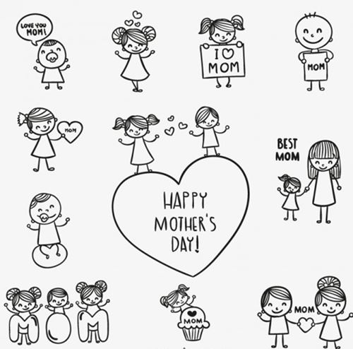 Free Printable Happy Mothers Day Coloring Pages, Sheets ...