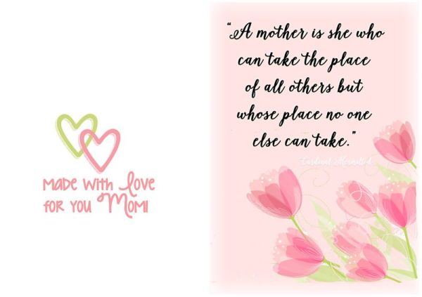 Mother's Day Quotes 2018 - Happy Mothers Day | Happy ...