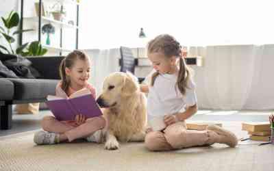 Vorlesehund: der gute Zuhörer für Kinder