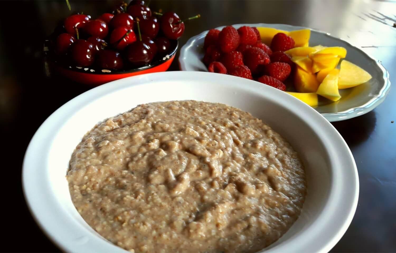Baby Porridge basic recipe