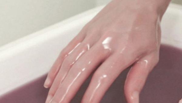 домашно приготвени парафинови вани