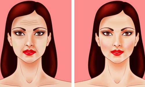 как да стегнем отпуснатата кожа на лицето
