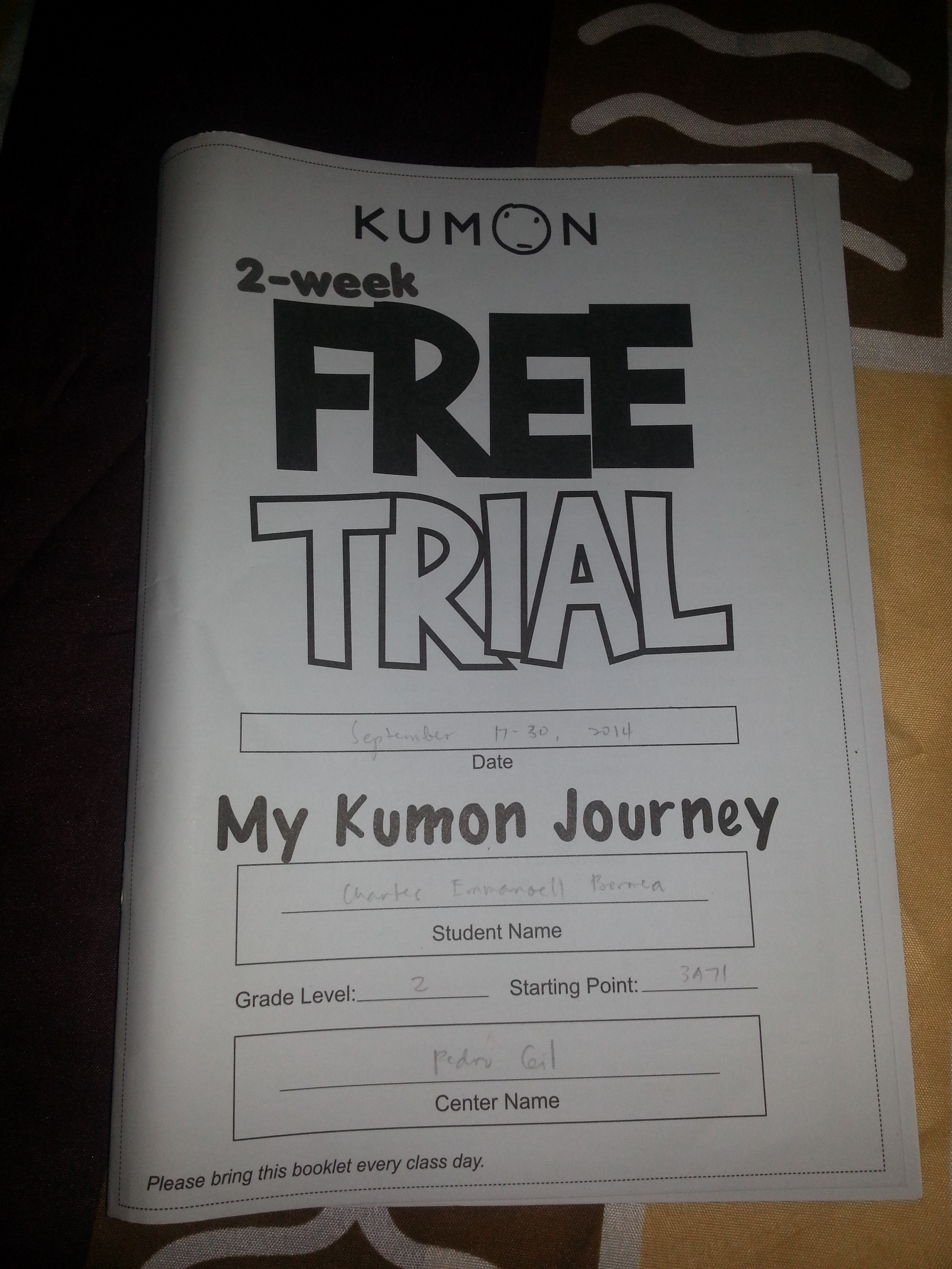 Kumon Math Worksheets Level H