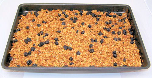 fresh from the oven granola