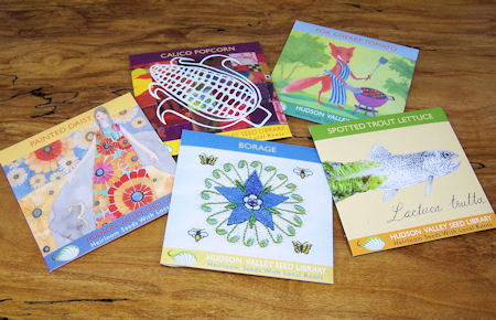 Art Pack seeds from Hudson Valley Seed Library