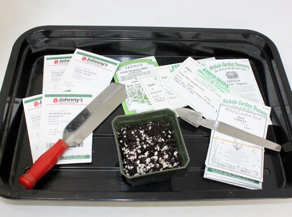 seed starting supplies (click on any image to enlarge)