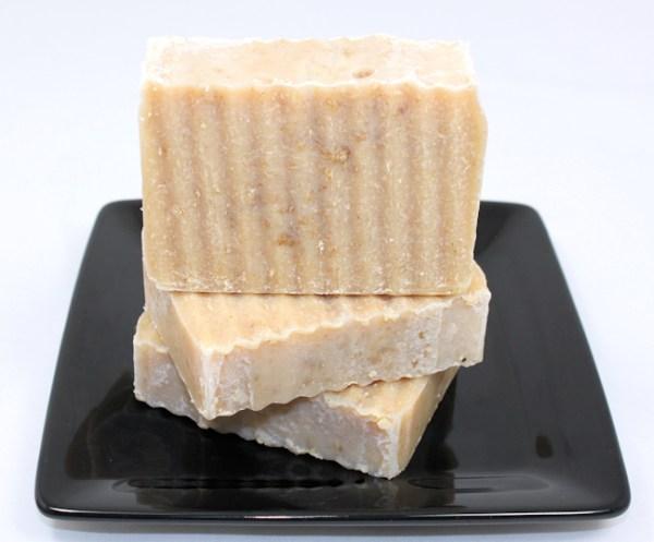 Peppermint Honey Oatmeal Soap
