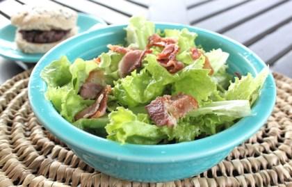 wilted lettuce salad