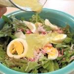 Daphne's Garlic Scape Salad Dressing