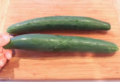 Tasty Jade cucumbers