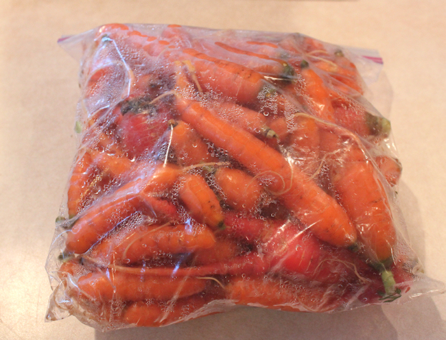 bagged carrots
