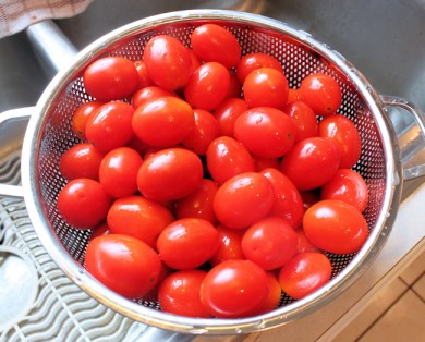 2013 Juliet tomatoes ready for the Vitamix