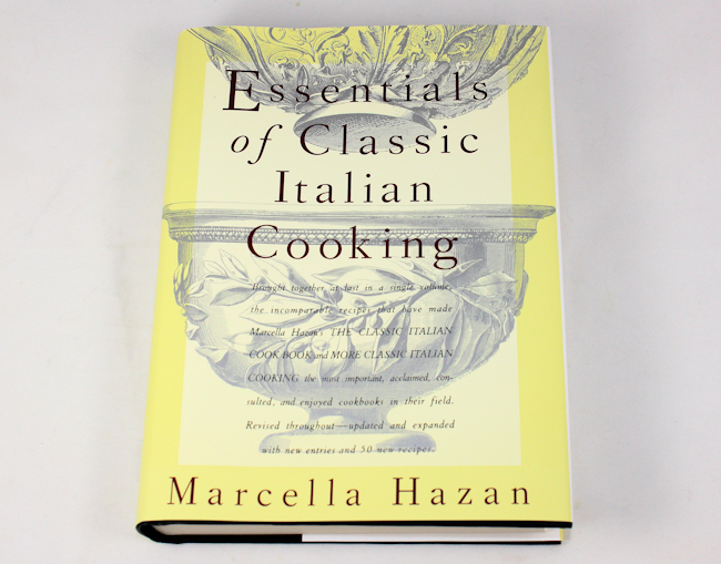"""""""Essentials of Classic Italian Cooking"""" by Marcella Hazen"""